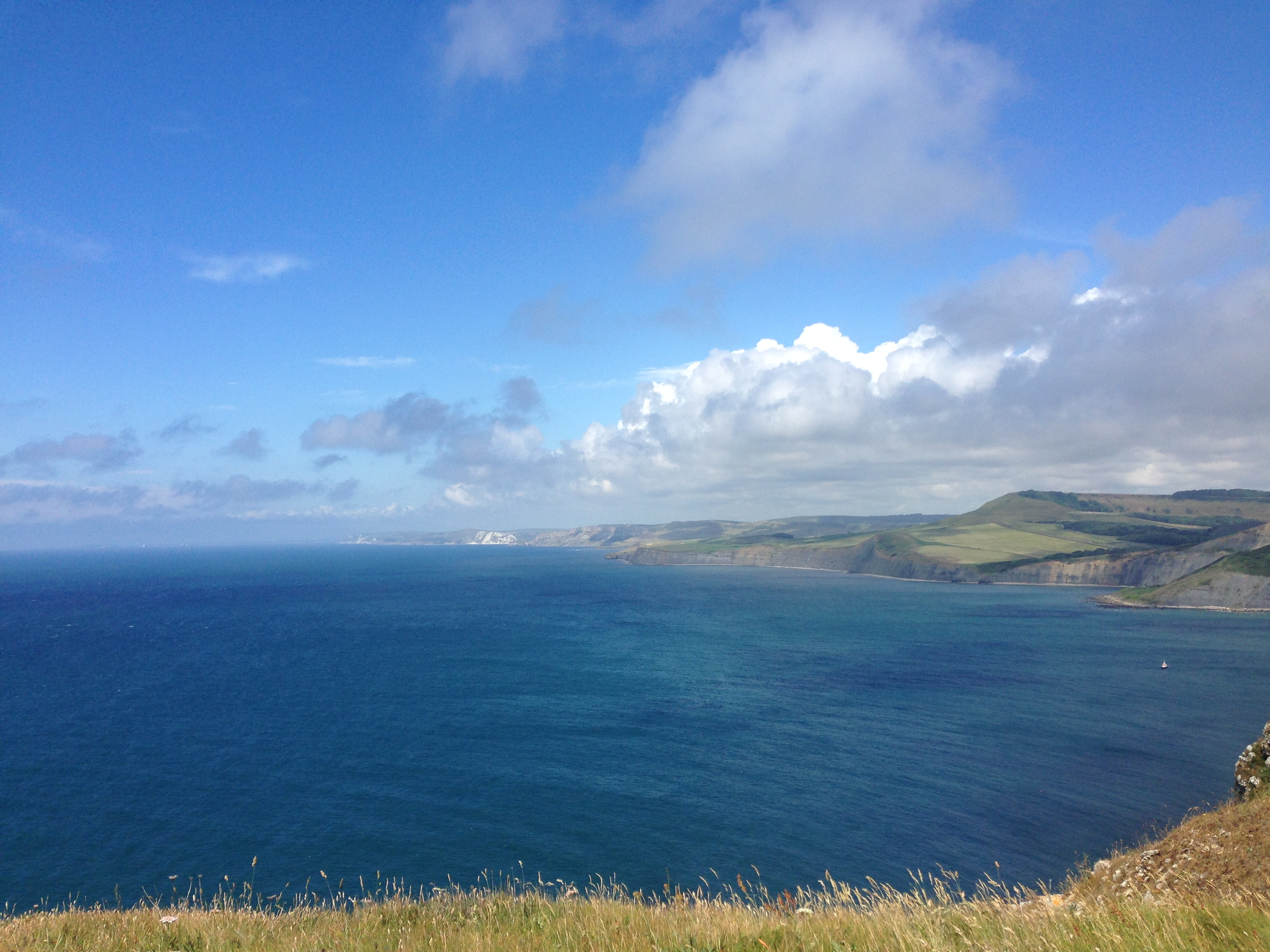 The view westward from St Aldhelm's Head