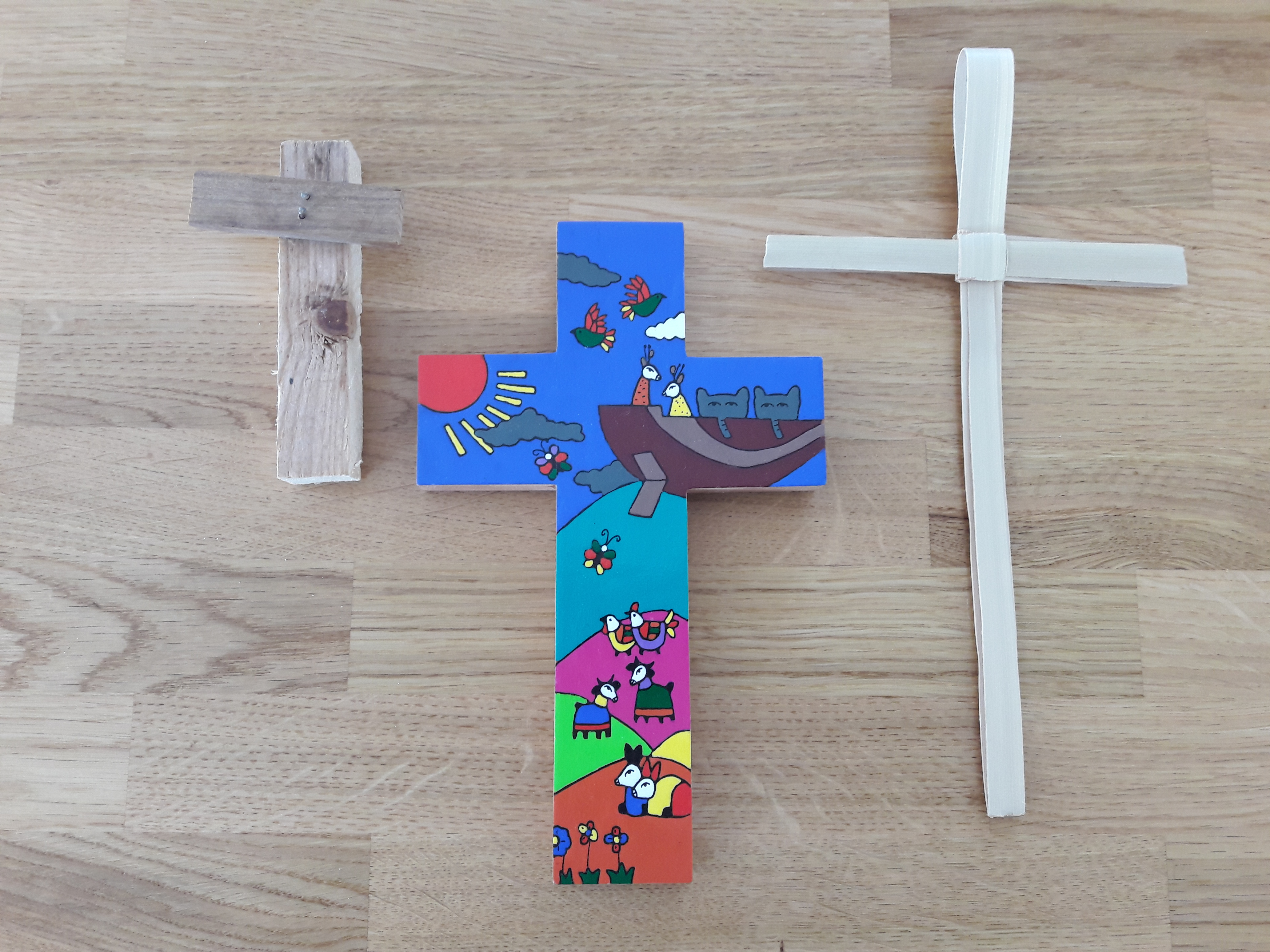 Different kinds of crosses